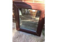 PVC double glassed window