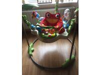 Baby fisher price jumparoo toy walker bouncer