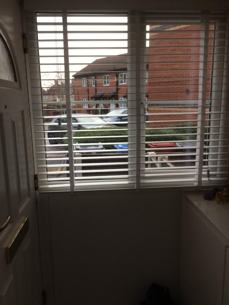 Wooden window blinds£80 if taken today bargain!!!!!