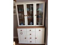 Cream Painted Glazed Welsh Dresser