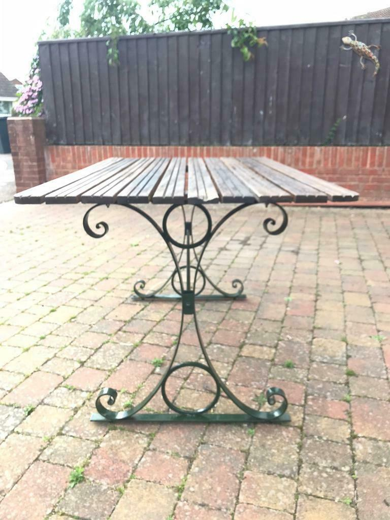 Teak garden table / furniture | in Exmouth, Devon | Gumtree