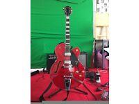 Gretsch G2420T Streamliner Guitar (+ Deluxe Arch Top Jazz Guitar Case) FOR SALE