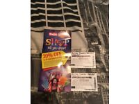 Alton towers tickets 10/10/2017