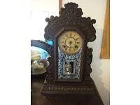 Antique Anasonia Gingerbread Clock
