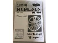 Nemesis Caravan Wheel Lock