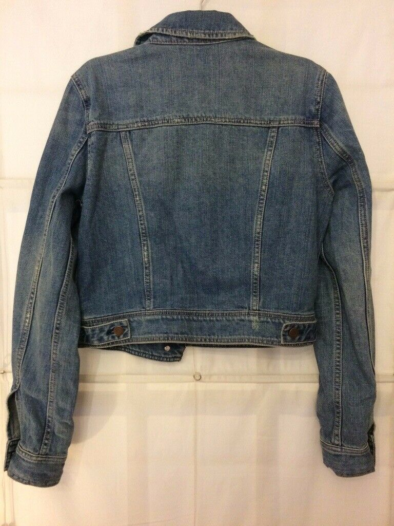 56670ea6 American Eagle Women's Denim Jacket Size M (UK 10/12) | in Leith, Edinburgh  | Gumtree