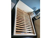 IKEA Double Bed Frame - Off White