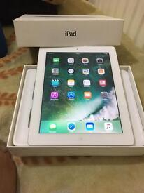 IPAD 4th generation wifi & cellular 16gb brand new condition with box & charger