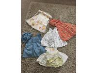 3-6 Months Old Bundle of Dresses