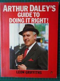 Arthur Daley Book