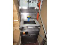 POLIMOON STAINLESS STEEL FOOD PACKING MACHINE...ONLY £250!!!! BARGAIN!!