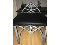 Stool - recently upholstered and renovated