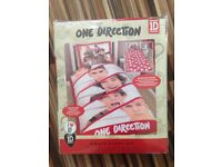 One Direction 1D Duvet Covers, 2 designs available, single and double - Brand New- NO pillowcases