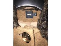 ASOS Brown cape Size 8