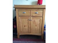NEXT Pine Nappy Changing Cupboard