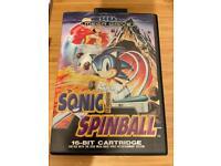 Sonic Spinball megadrive