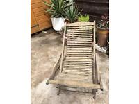 Deck Chair/rocker solid teak