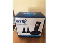 BT Digital Cordless Phone with Answer Machine (BT3710) Unused