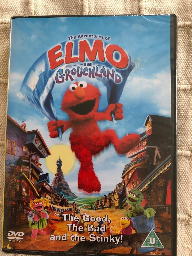 The Adventures of Elmo in Grouchland dvd. New