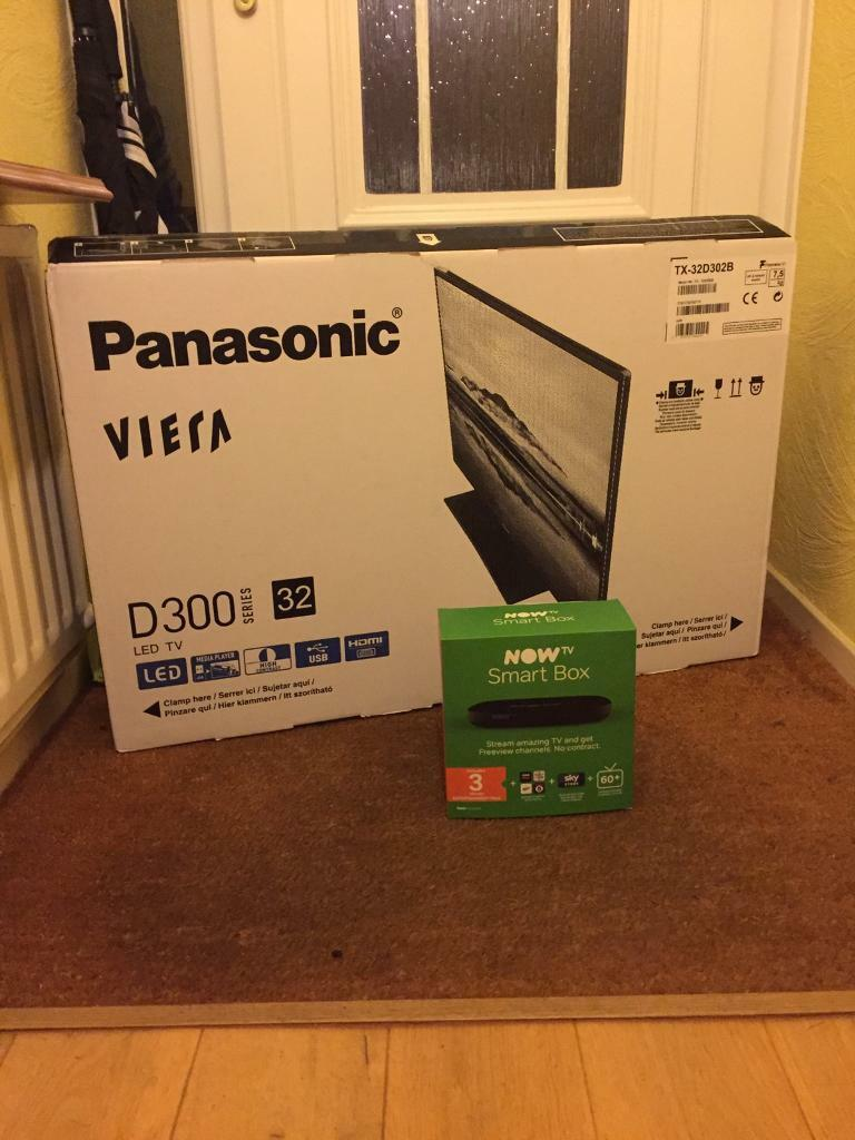 Brand New tv and Smart Box
