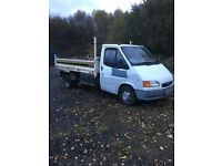 Ford transit tipper new tyres 49000 miles from new