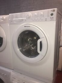pure white hotpoint washing machine it's 6kg 1400 spin in excellent condition in full working order