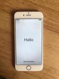 iPhone 6 Rose gold 16gb o2