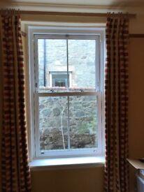 White uPVC double glazed window for sale
