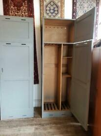 Tall Fitted Officers Wardrobes from HMS Daedalus