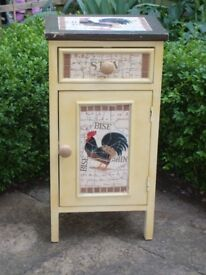 """French Rustic Style """"Chicken"""" Mosaic Cupboard"""