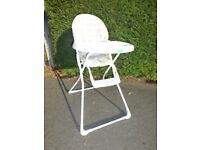 Highchair - folds flat