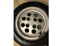 Fiesta XR2 Pepperpots x4 Alloy Wheels