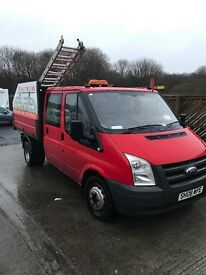 2008 ford transit tipper no offers