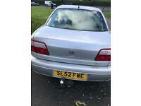 Vauxhall, OMEGA, Saloon, 2002, Manual, 2198 (cc), 4 doors