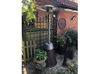 Enders Cosystand Rattan Gas Patio Heater