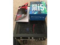 Mini ITX motherboard cpu case bundle msi intel 7400