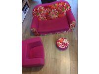 Kids sofa bed set