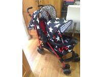 Cosatto Shuffle tandem stroller/double pushchair