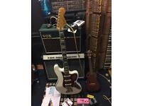 Fender Squier Modded Bass VI in White