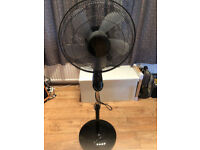 Pedestal fan - with different settings & timer