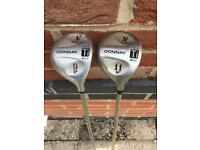 Golf clubs by Donnay