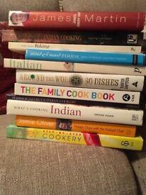 25 cook books