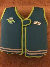 Zoggs swim vest, used once