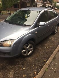Ford Focus 1.6 tdci 06 plate long mot and tax