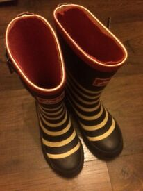 Joules wellies size 10 unisex