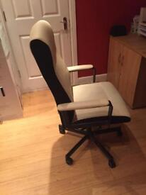 Ikea 'Malcolm' leather office chair