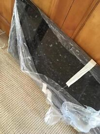 B&Q Ebony Granite Straight Edge Kitchen Worktop