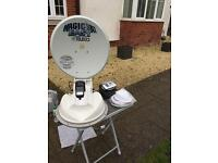 Teleco magicsat easy fully automatic satellite system