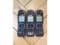 3 x BT Phone Handsets