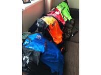 Junior football kits home & away